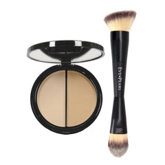 EVE PEARL HD 50:50 Dual Foundation & 201 Contour Blender Brush
