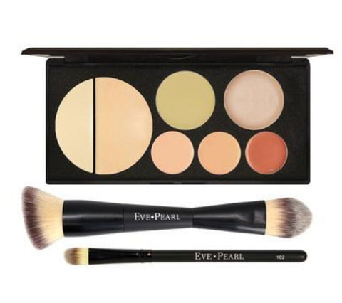 EVE PEARL Flawless Face Contour Palette & Brushes
