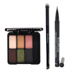EVE PEARL 3-Pc Ultimate Eye Palette with Liner & Dual Brush