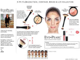 EVE PEARL 5-Pc Flawless Face, Contour, Brushes & Lip Collection