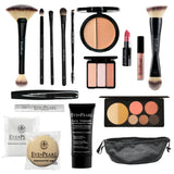 EVE PEARL 17-Pc Camera Ready Female Makeup Set
