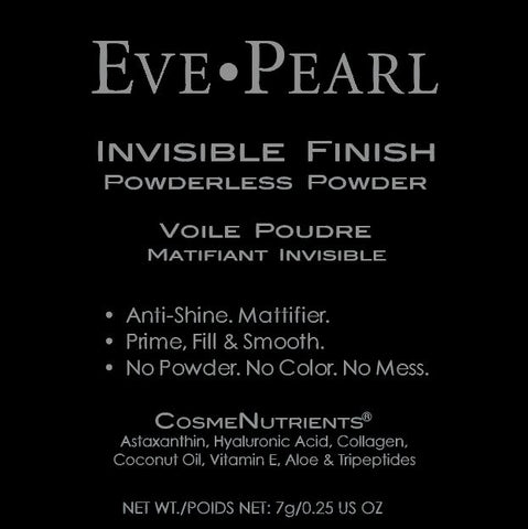 EVE PEARL INVISIBLE FINISH Powderless Powder & B203 Finishing Powder Brush