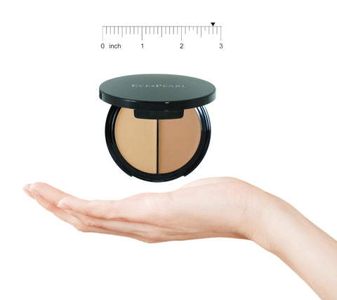 EVE PEARL HD Dual Foundation Contour Set-Fair & Dark
