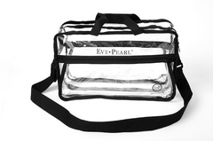 EVE PEARL PRO Clear Travel Makeup Bag-Large