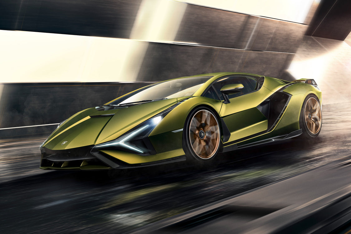 Lamborghini Sián - The Raging Bull's First Hybrid Supercar