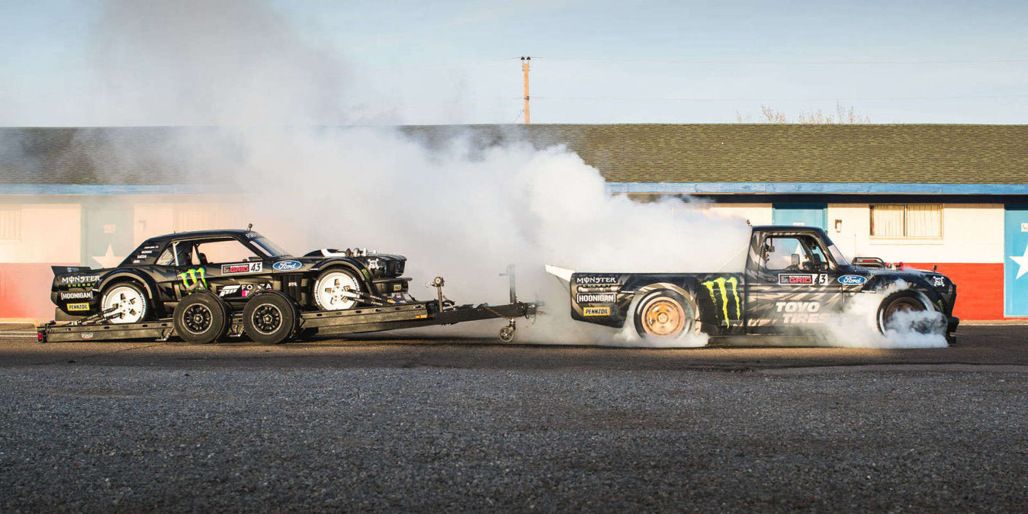 Inside Ken Block's Hoonigan garage
