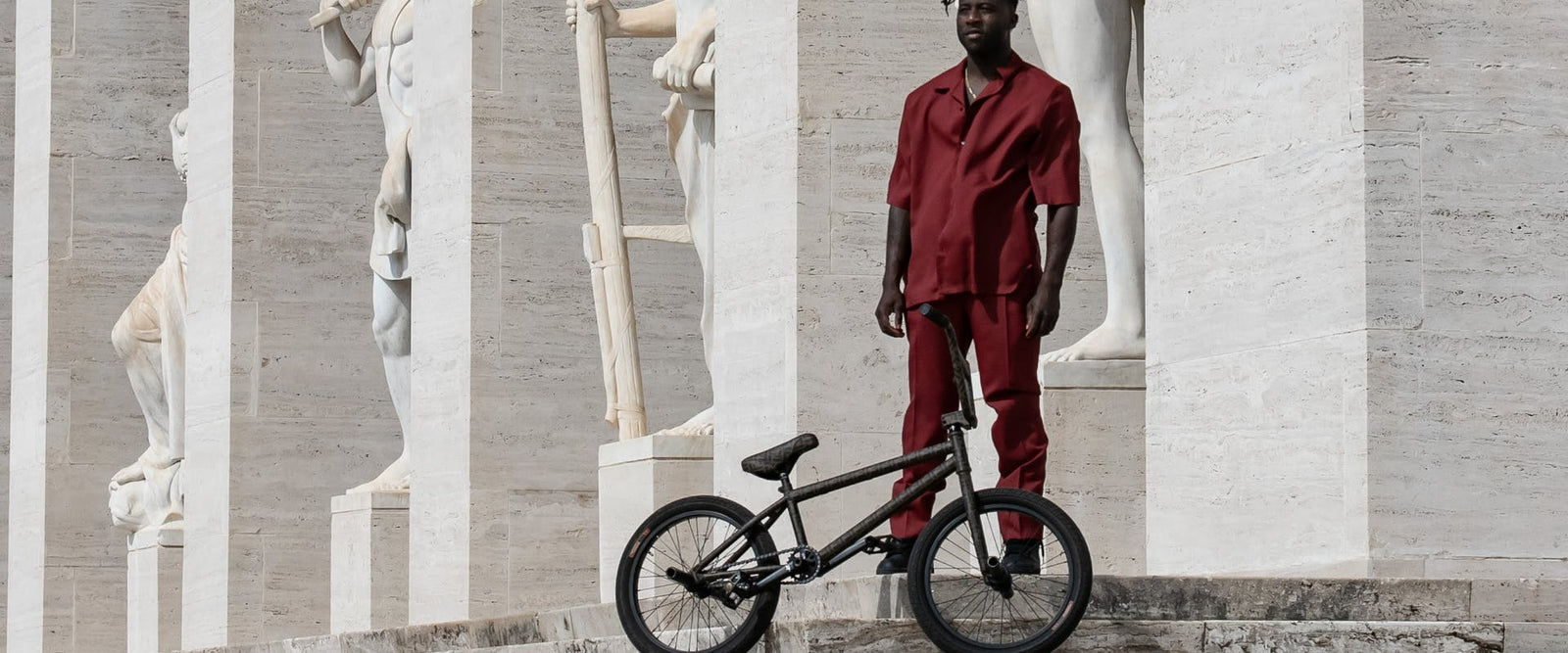 Nigel Sylvester's Fendi BMX Clashes Street and Haute Couture Culture