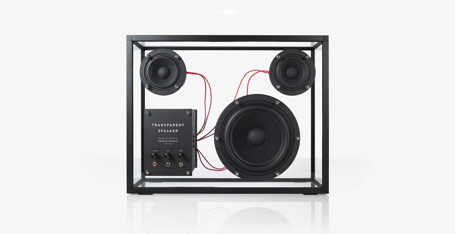 Transparent Speaker by People People