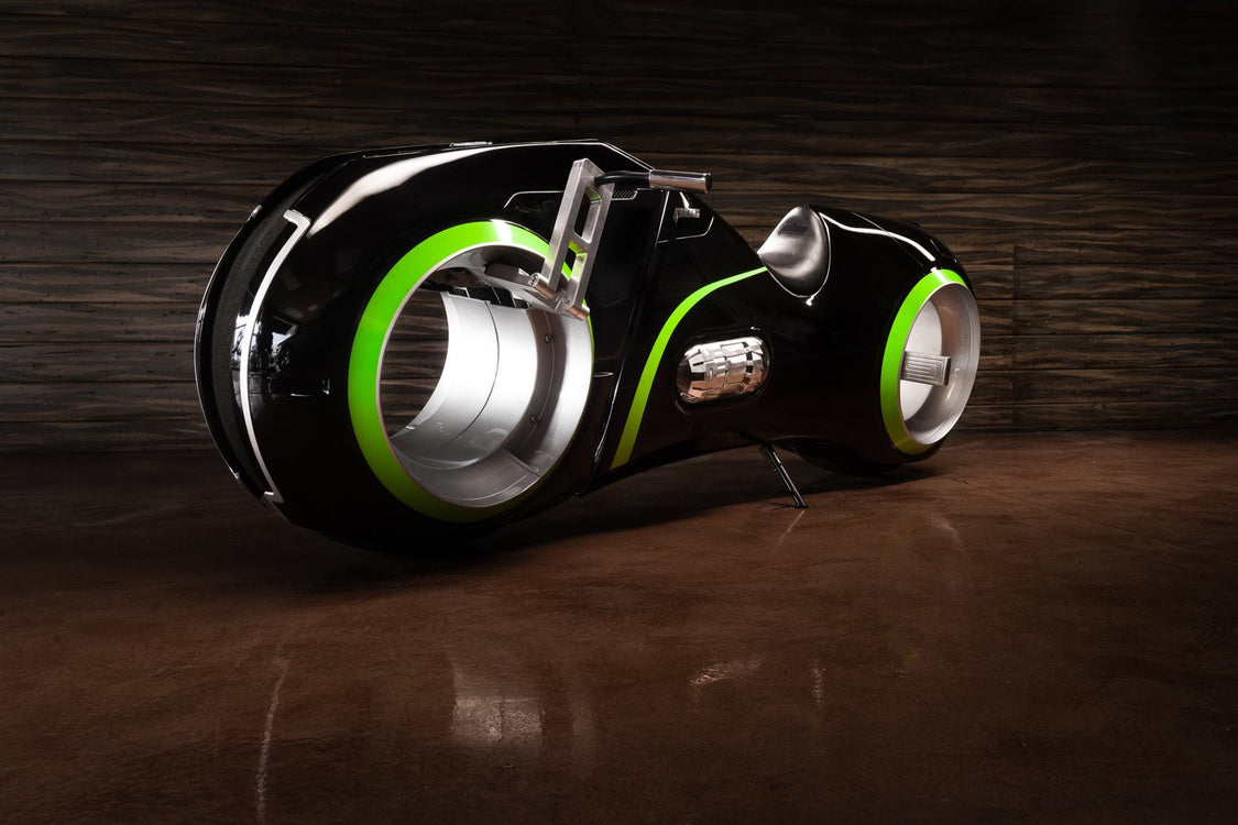 2016 PBC Neutron, a Street Legal Electric Tron Bike
