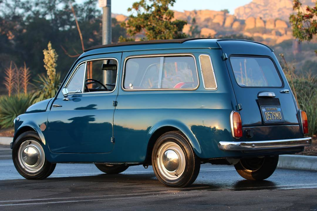 Icon Revives A 500 Giardinetta With An Electric Heart