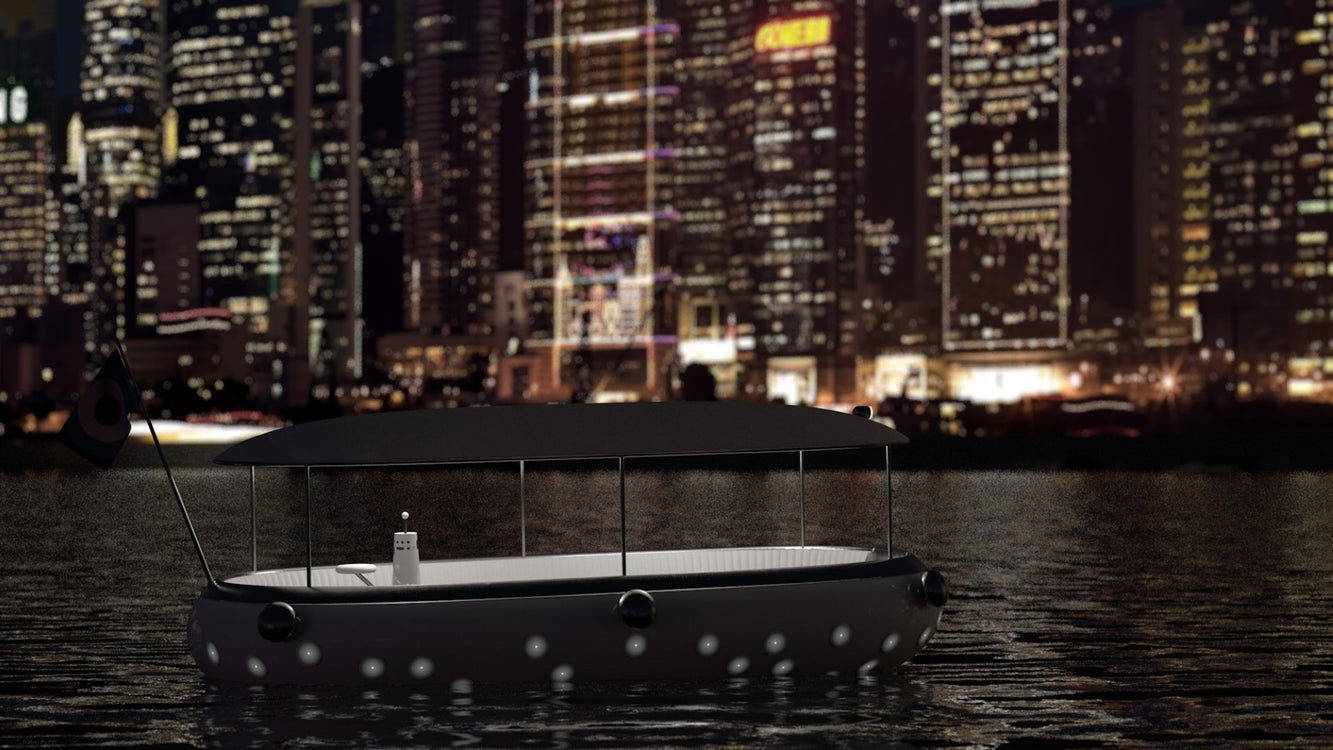 Michael Young's OseaD1 is a Funky Electric Boat