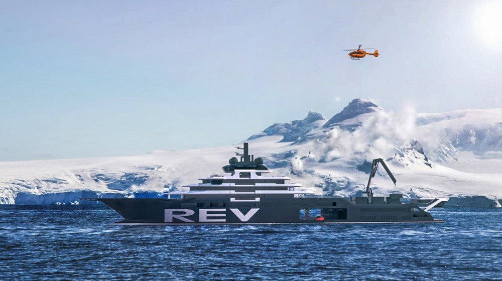 182M Research Expedition Vessel Superyacht