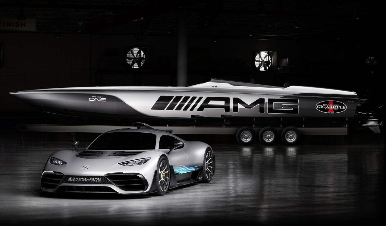 Mercedes x Cigarette 515 Project One - Inventing the Hyperboat