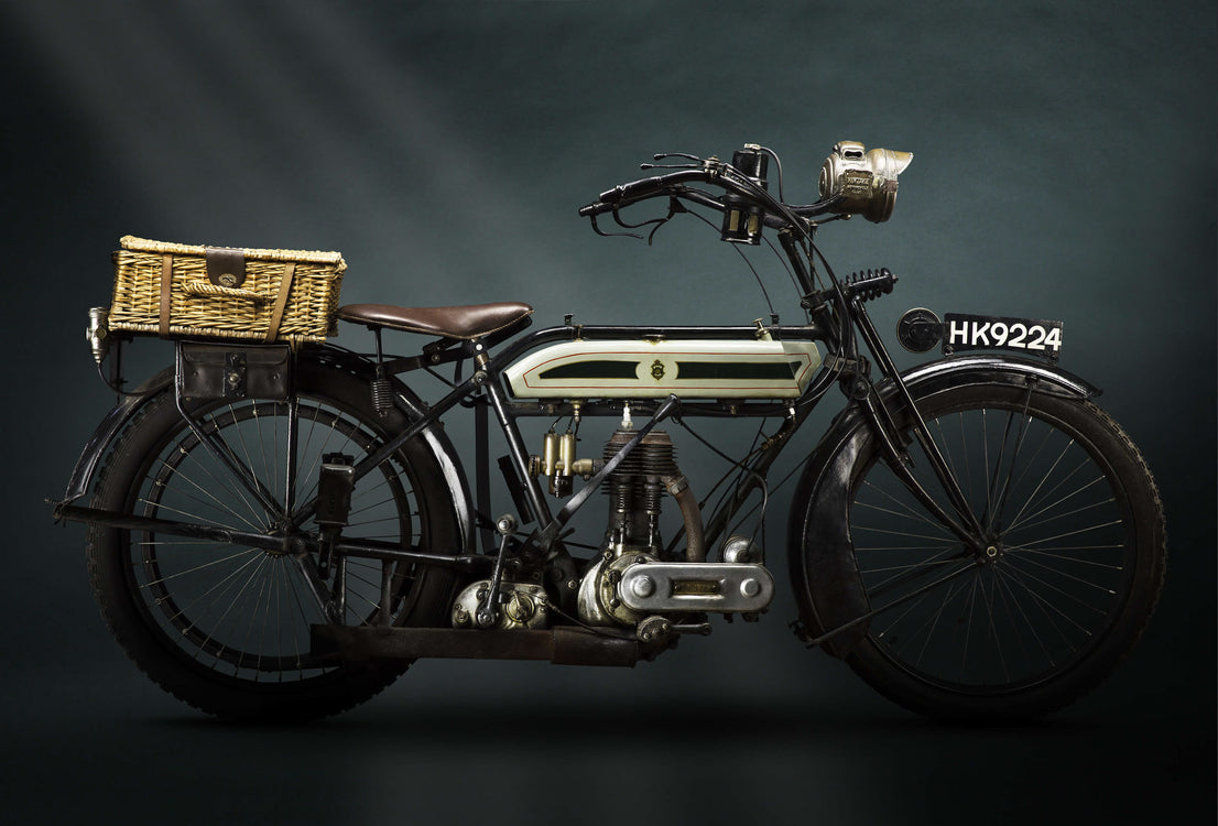 Pre-War Motorcycles - Series by Paul Clifton
