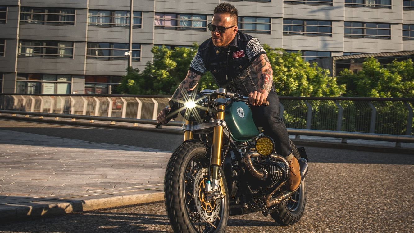 BMW R100R Moon Walker by Ironwood Custom Motorcycles