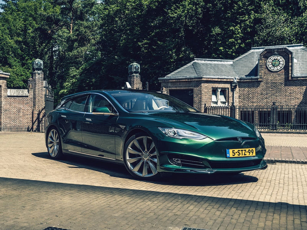 The World's Only Tesla Model S Shooting Brake