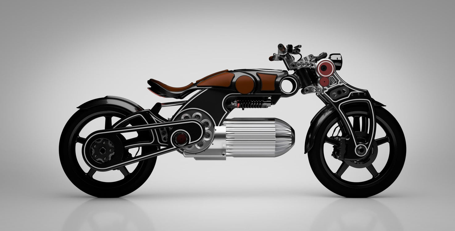 The Curtiss Hades is a Quirky Electric Motorcyce