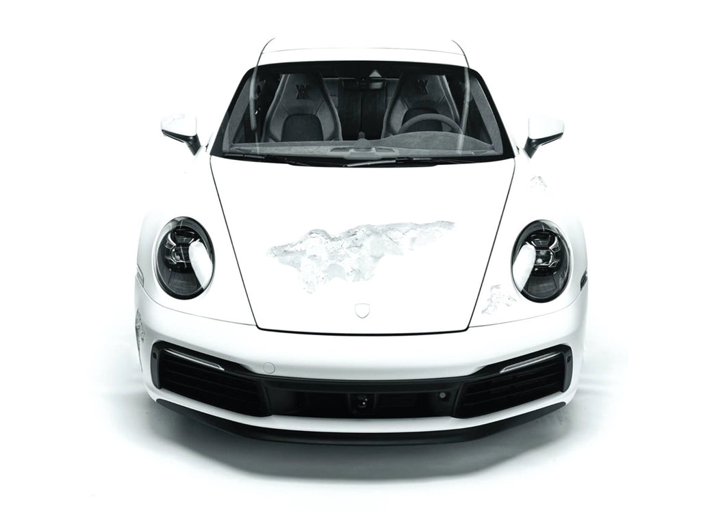 Daniel Arsham Crystal-Eroded Porsche 911 at Selfridges