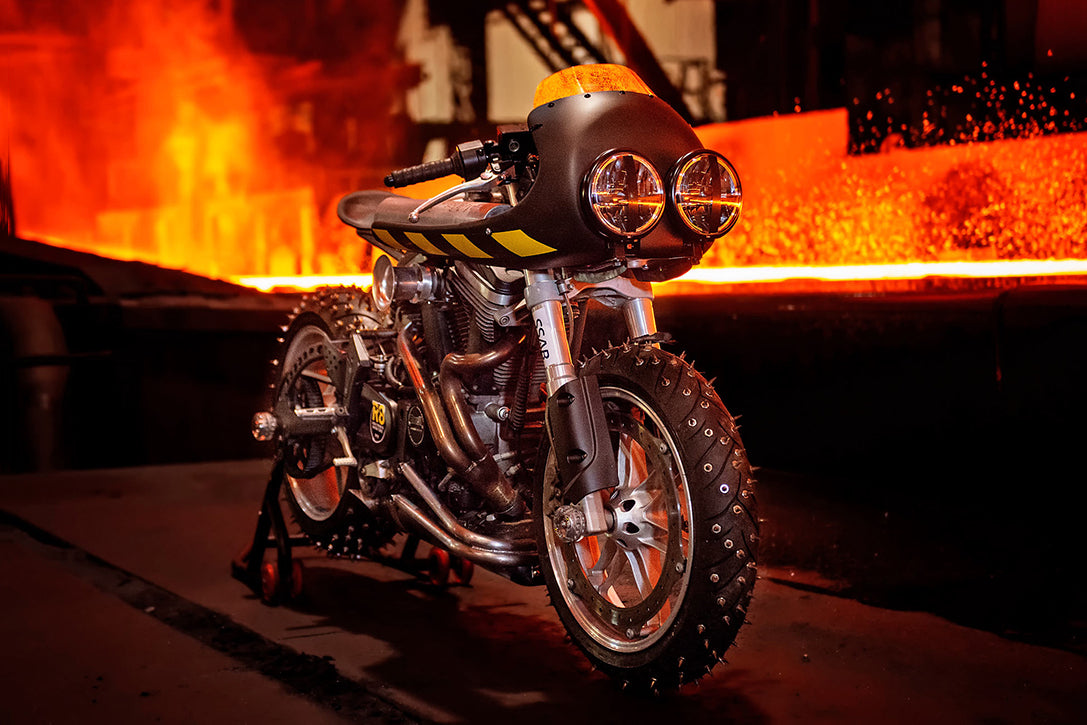 Buell Firebolt Ice Racer by NCCR Customs