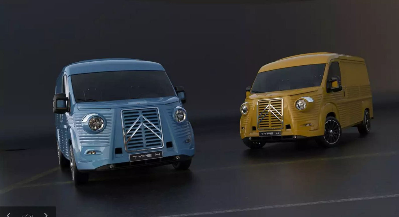 Rebirth of a classic, the 70th Anniversary Citroën H Van