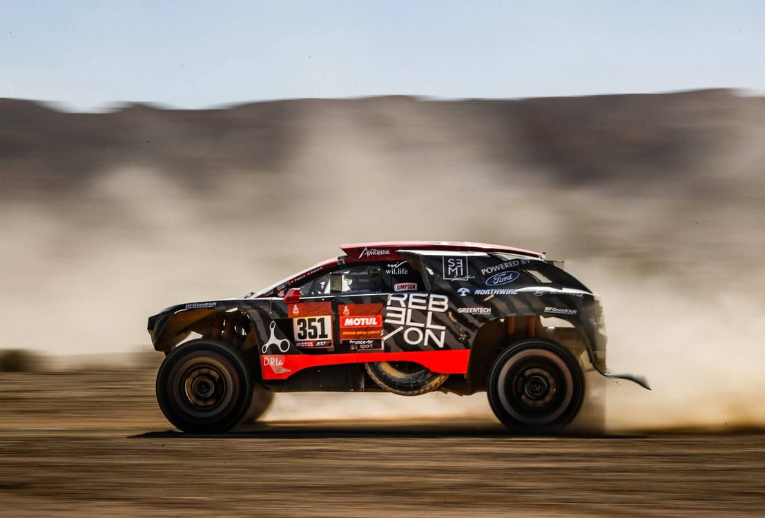 REBELLION Timepieces Enters Dakar 2021