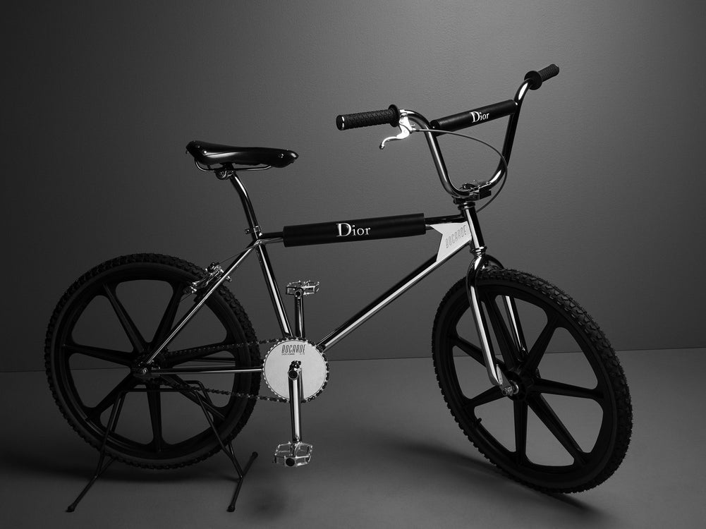 Dior Homme BMX, Mixing Street Culture with Haute Couture