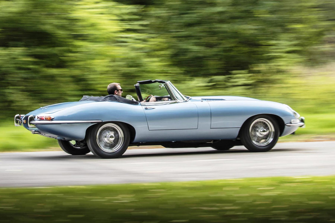 Jaguar Revives the E-Type in an E-lectric Fashion