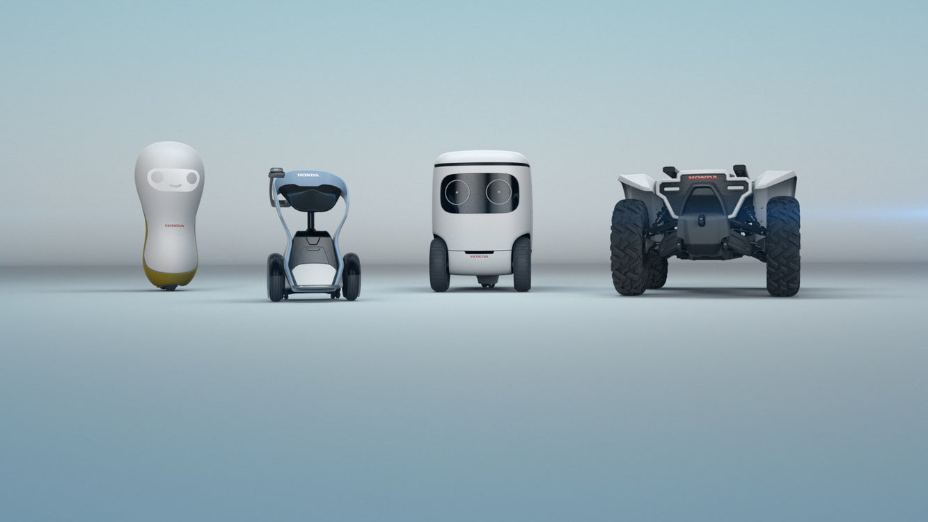 Honda's Robotic Fleet Just Wants to Help Humans