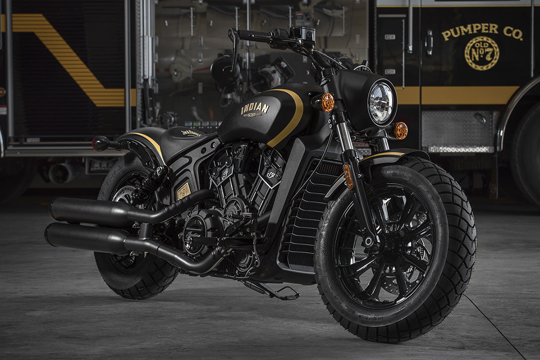 INDIAN SCOUT BOBBER 'JACK DANIEL'S EDITION'