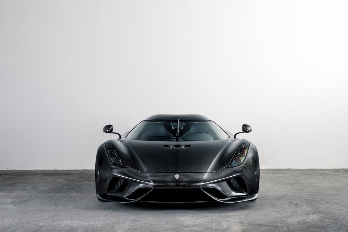 KNC Regera - first full carbon hypercar ever