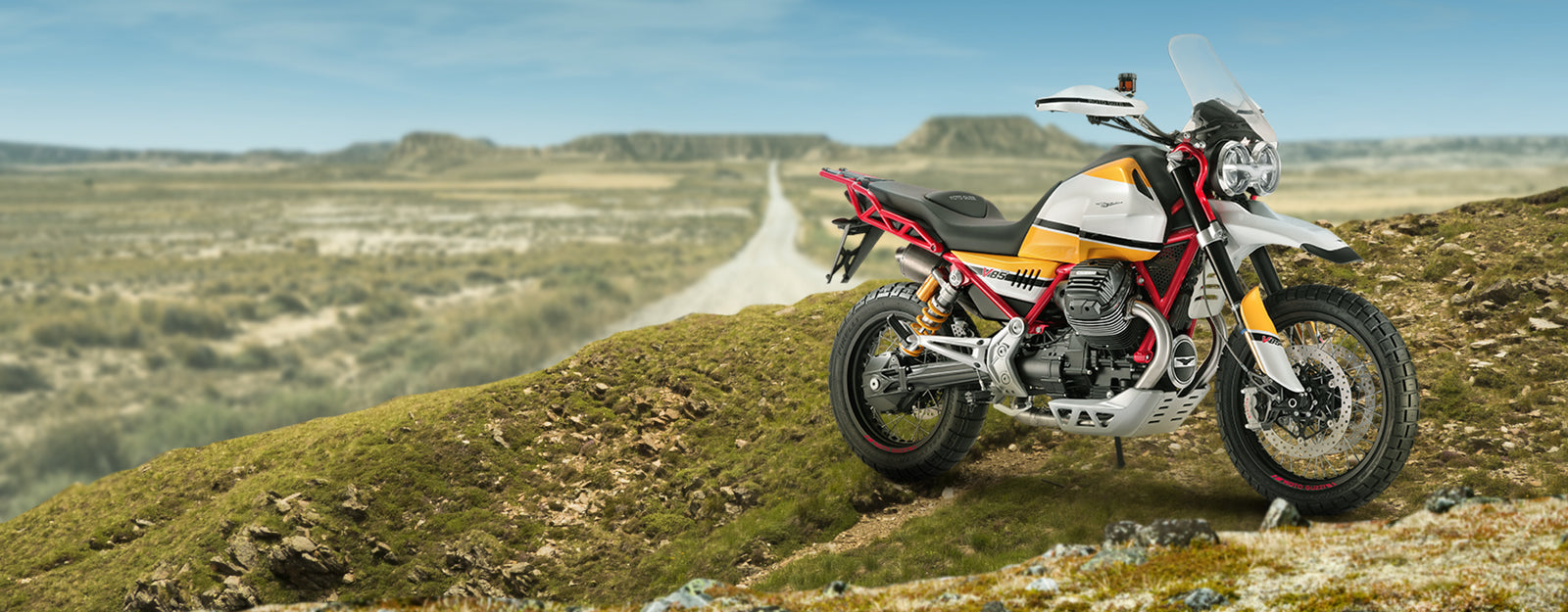 Moto Guzzi Goes Vintage with the new V85 Concept ADV Bike