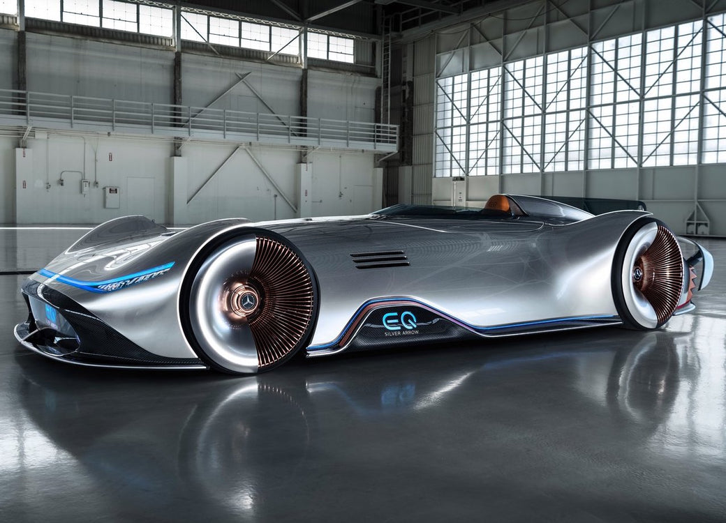Mercedes-Benz Elecrifies the iconic Silver Arrow