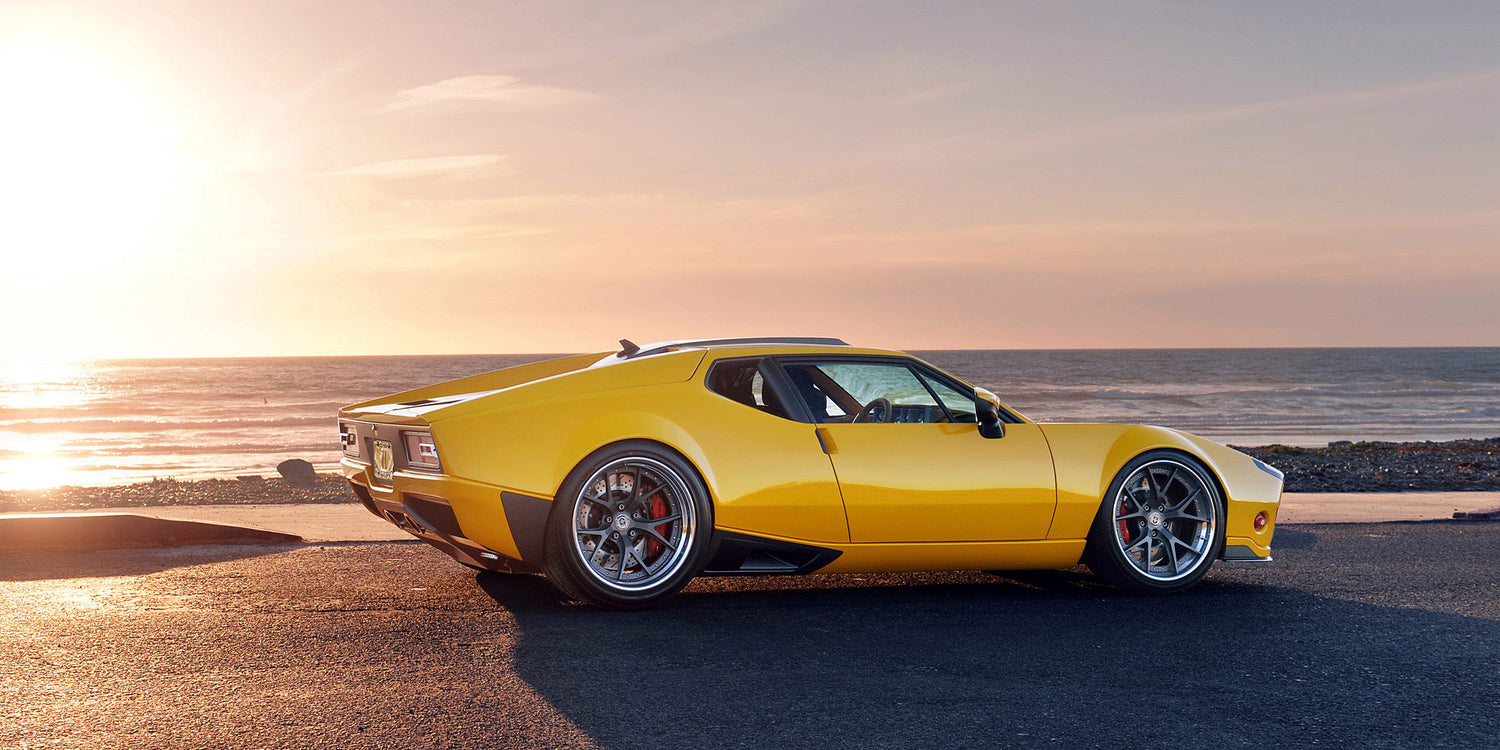 Ringbrothers 1971 DeTomaso Pantera ADRNLN built in collaboration with NIKE