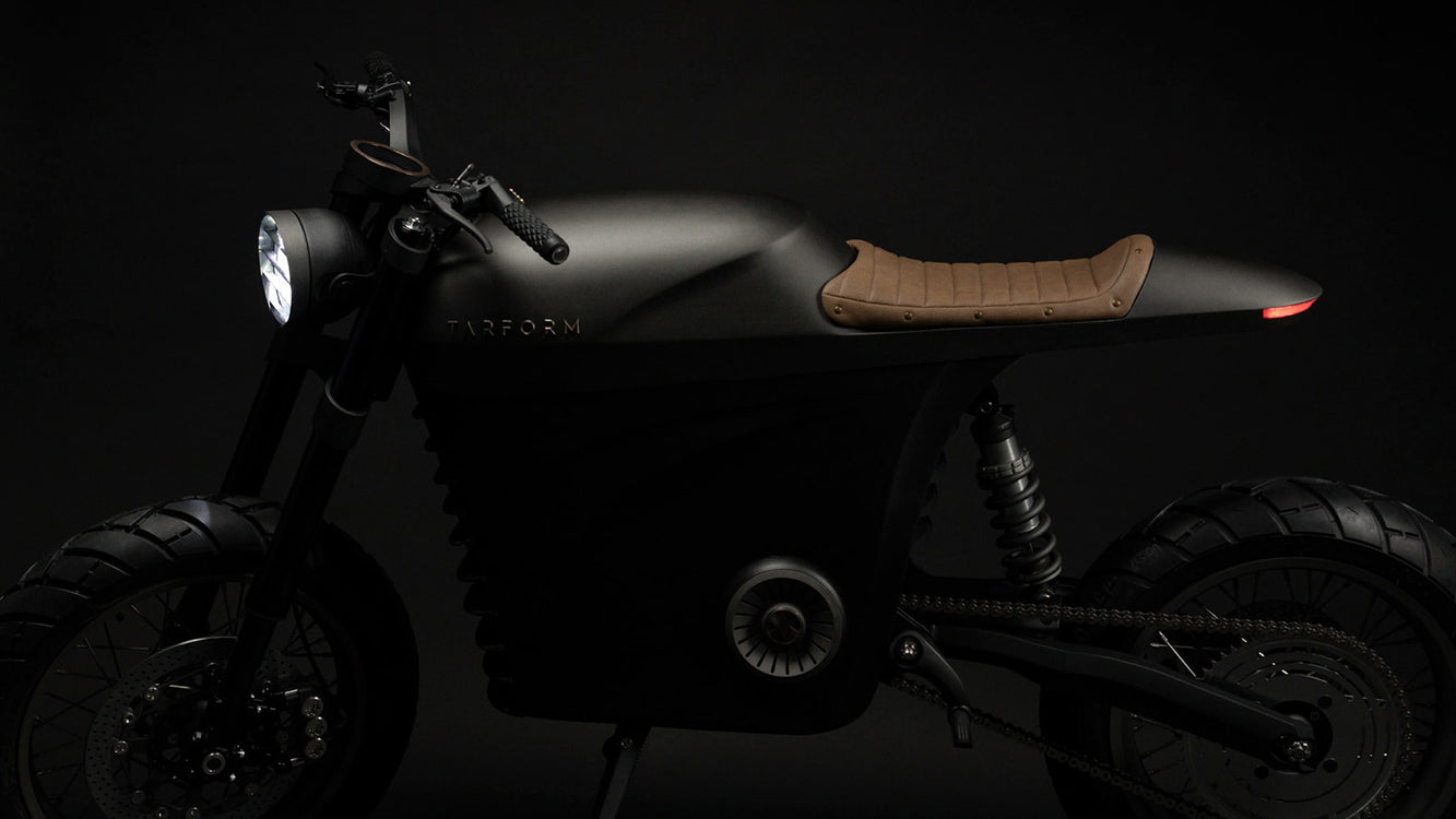 Tarform - Classic Design in a Modern Electric Motorcycle