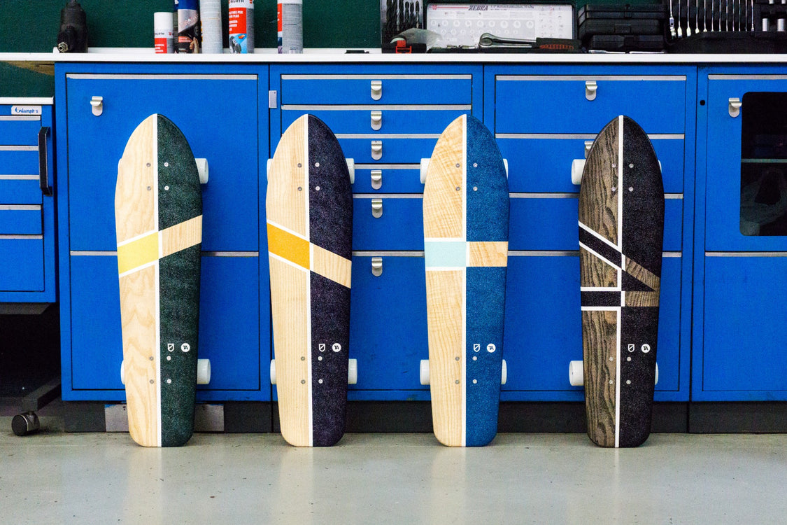 TheArsenale x Atypical - Motus Capsule Skateboards