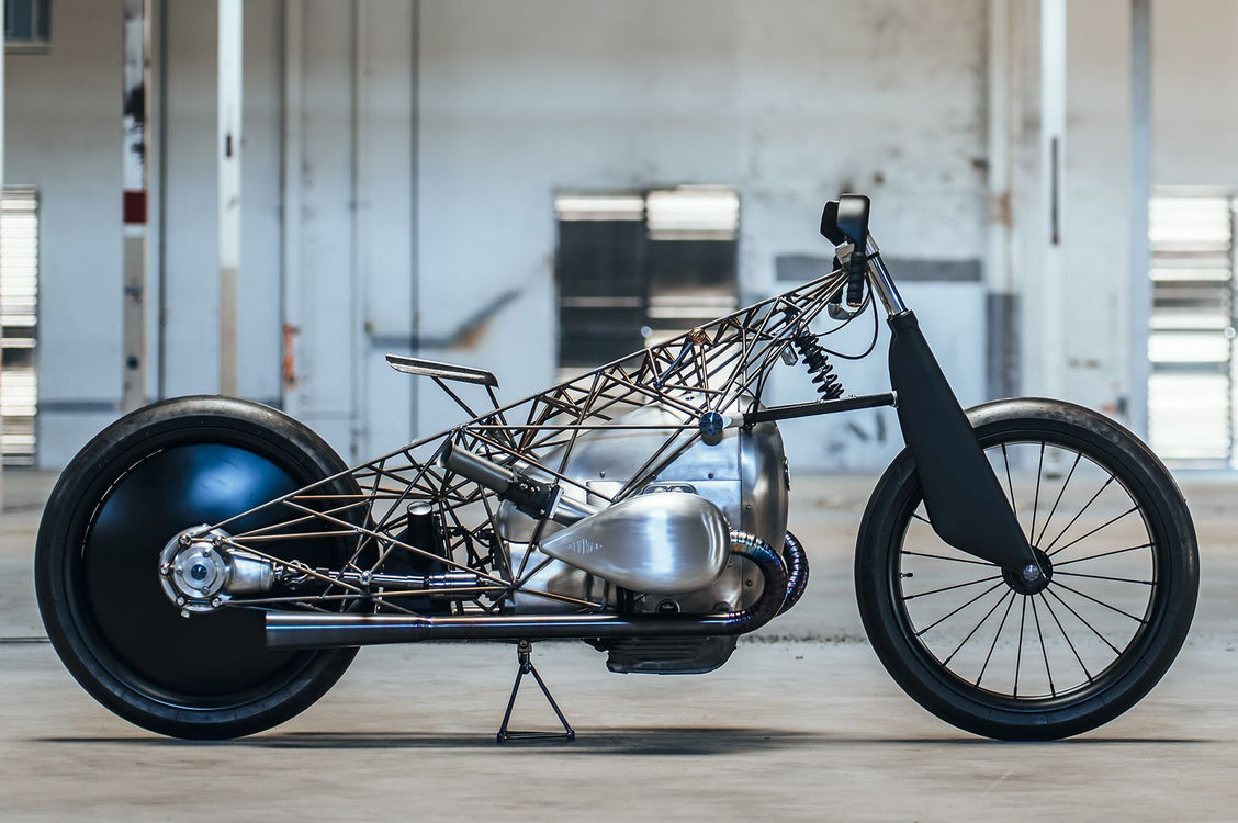 """Birdcage"" BMW by Revival Cycles"