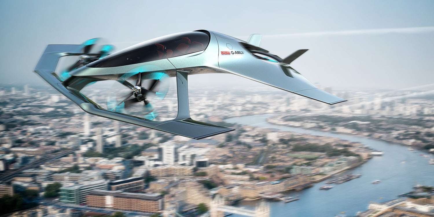 Aston Martin + Rolls-Royce unveil the Volante Vision Concept aircraft