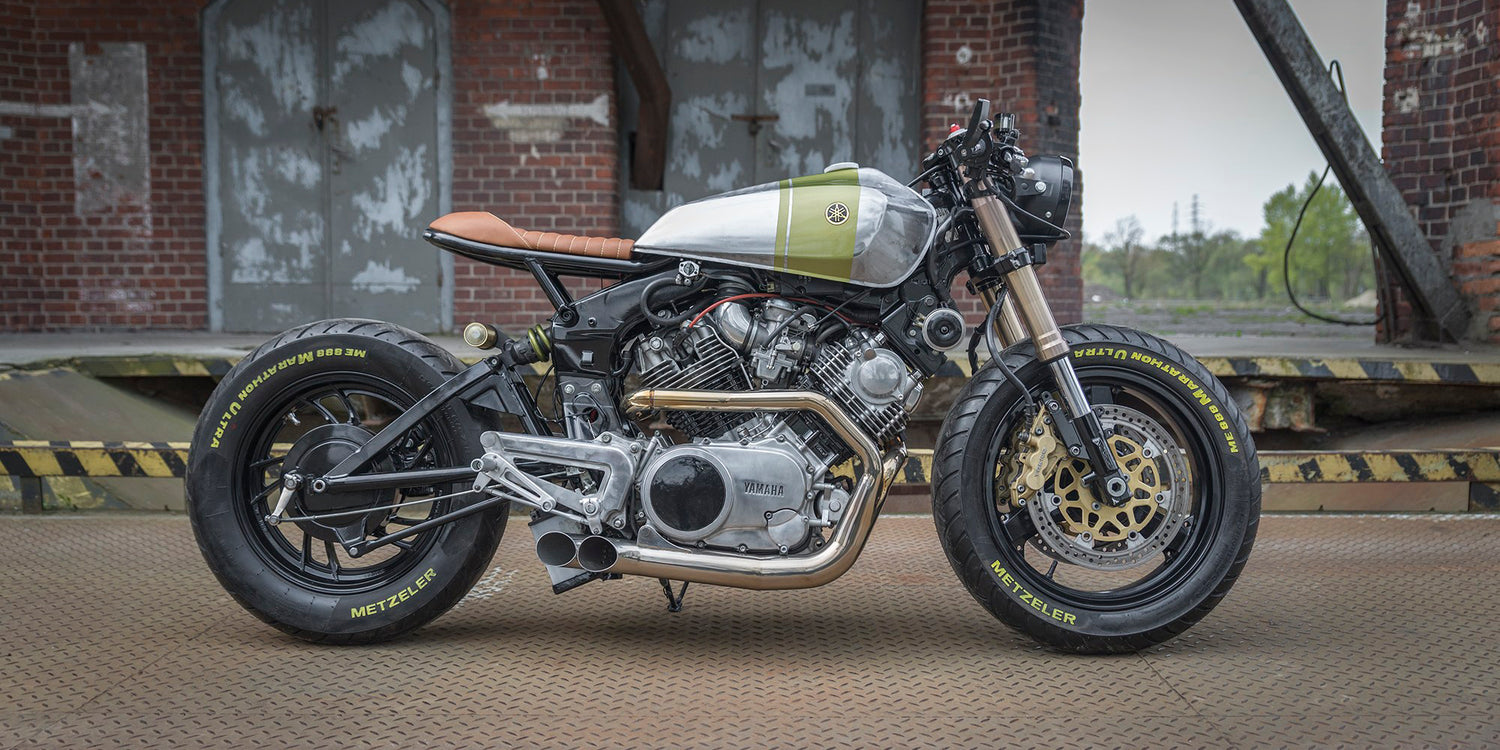 The Yamaha XV920 custom motorcycle by Ugly Motors