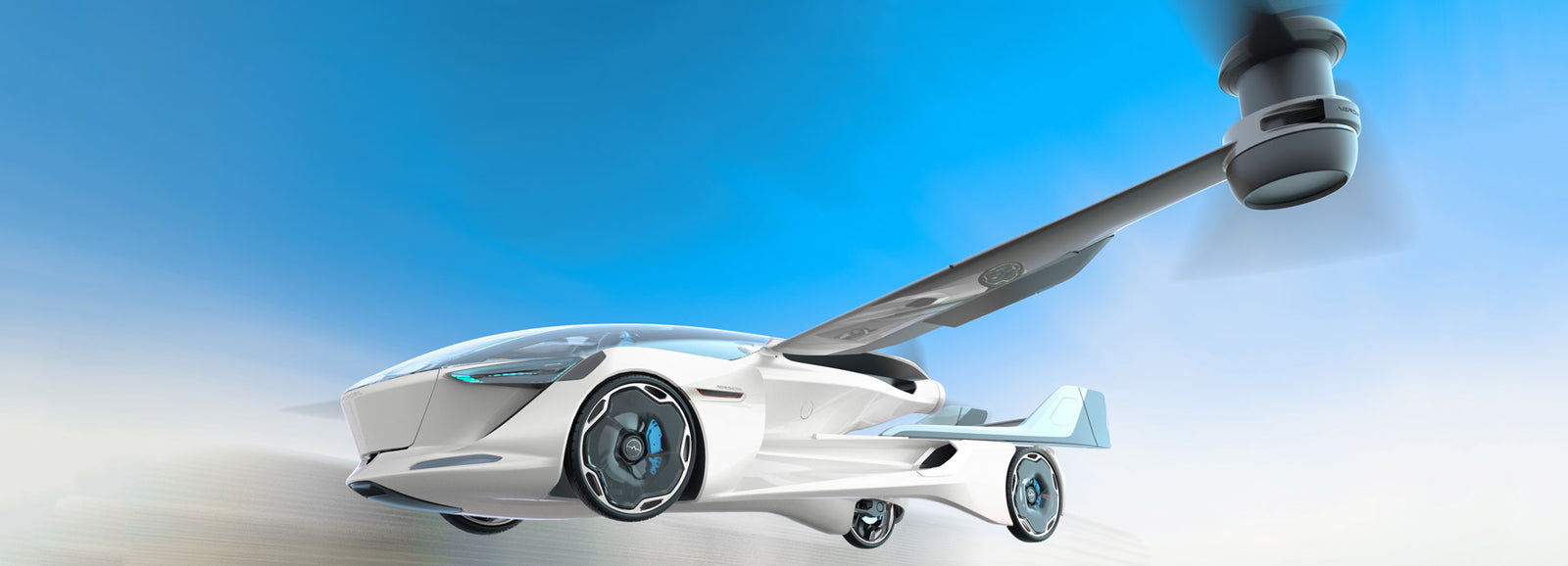 AeroMobil Teases 5.0 VTOL Flying Car