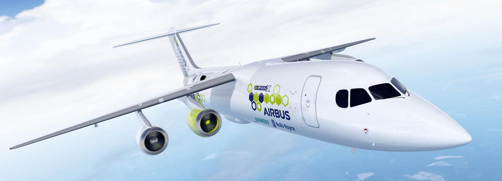 Siemens, Airbus and Rolls-Royce Team Up to Create a Hybrid-Electric Airplane