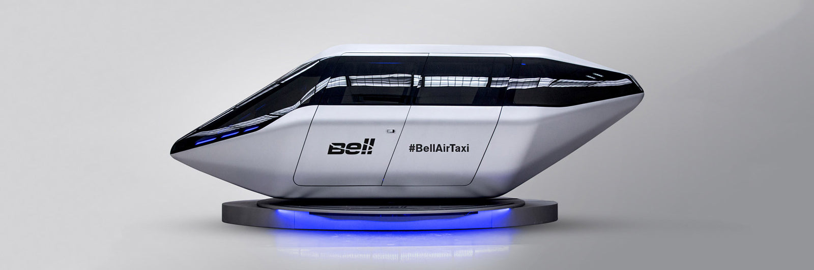 Bell Air Taxi Lands in CES Las Vegas