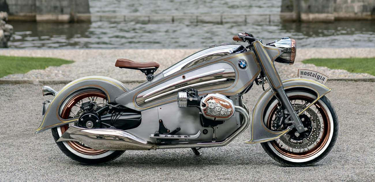 Limited Edition BMW R7 by NMoto is Art on Wheels