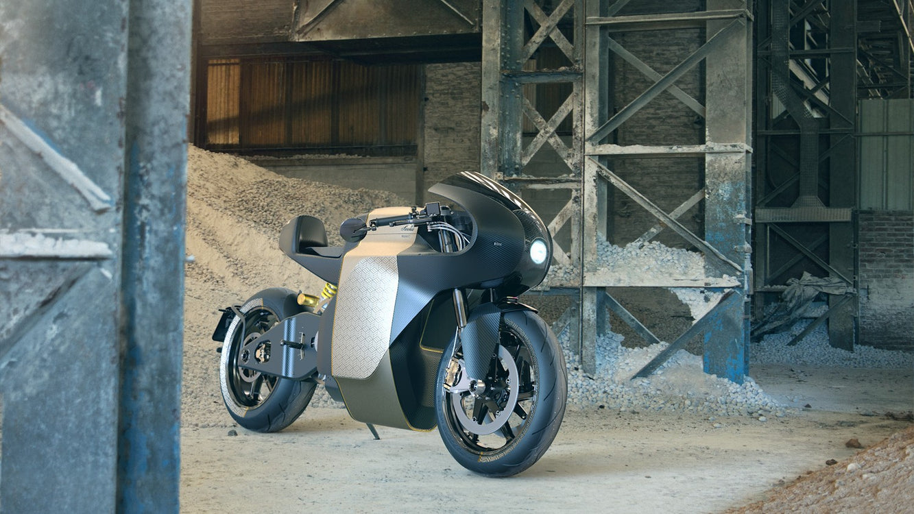 Saroléa MANX7, Thundering Electric Motorcycle by Rusak Design