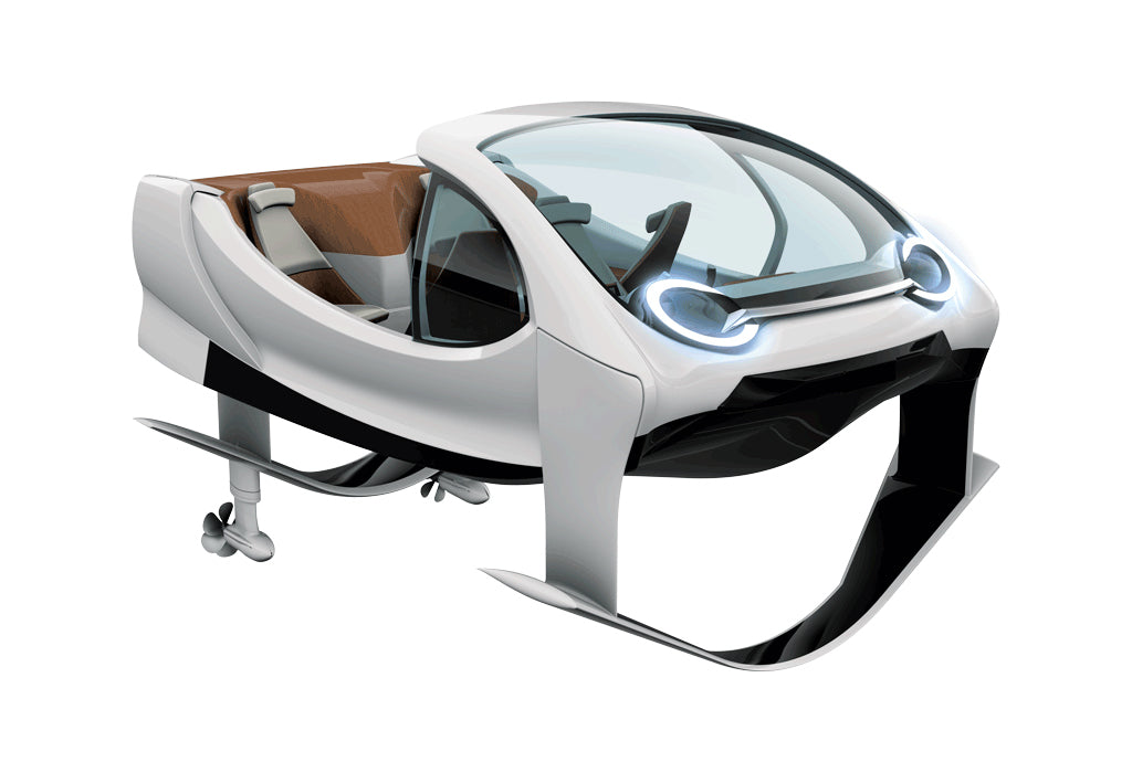 SeaBubbles - Freshwater Taxi Flies on Water