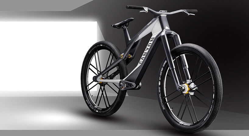 Tackle Down Hills with the Ultimate Gravity E-Bike, the 'Canyon Orbiter'