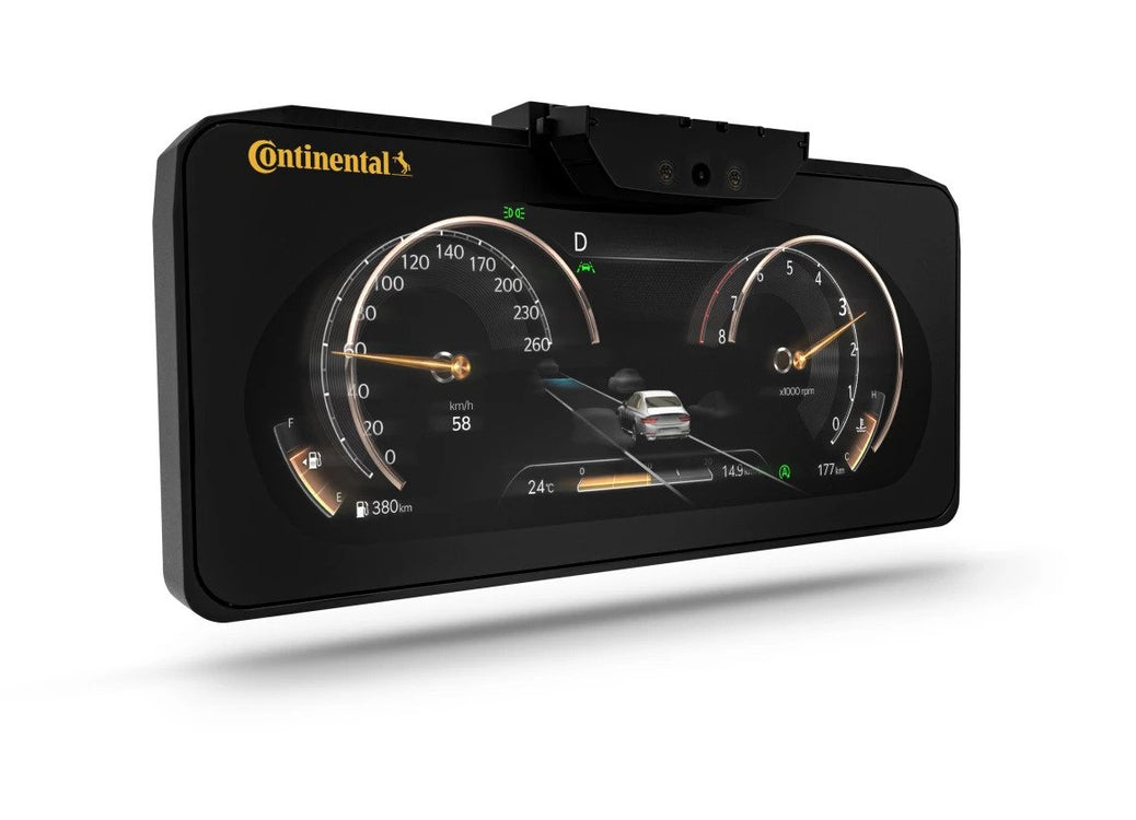 Continental Collaborates with Genesis for new 3D Dash
