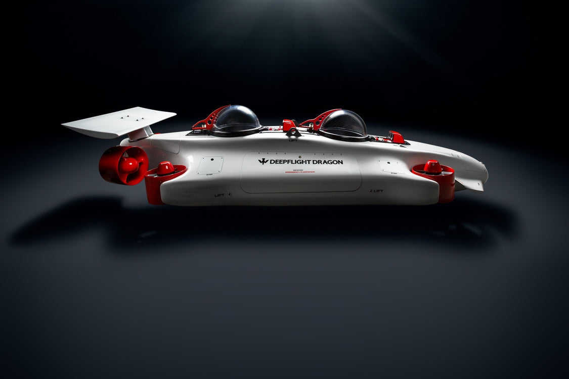 The DeepFlight Dragon is The Drone of Ocean Beds