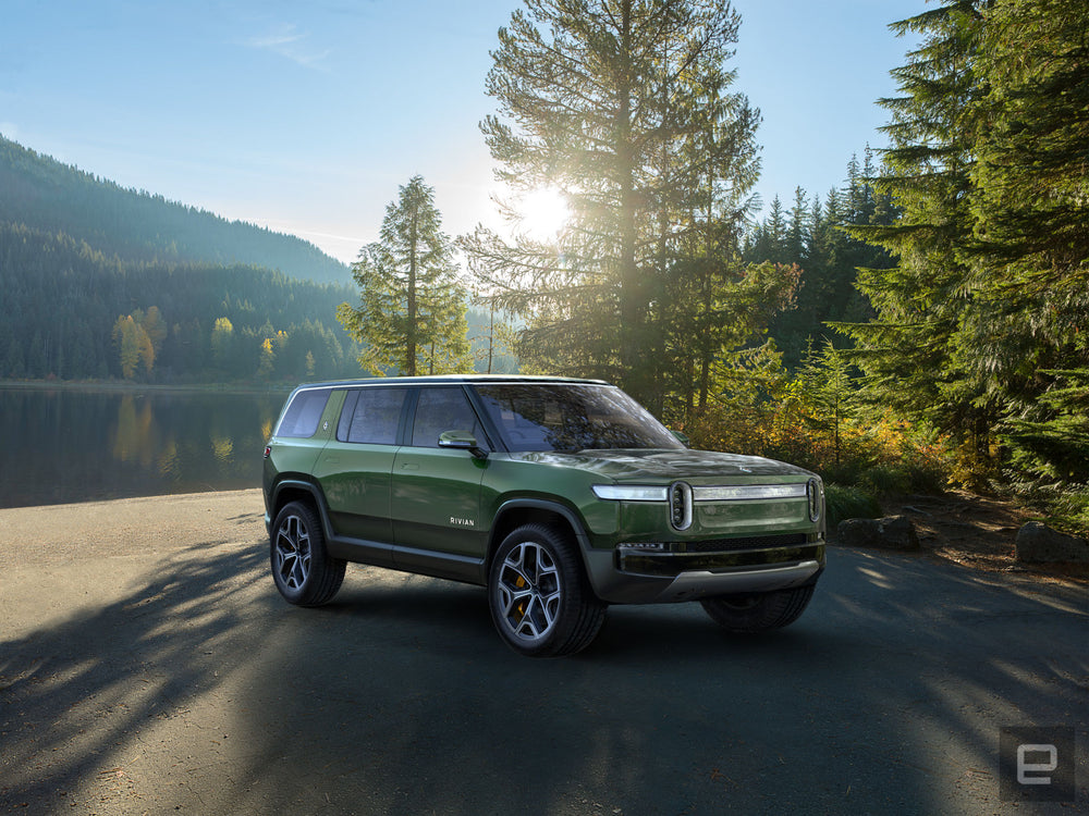 Rivian R1S & R1T - fully electric AWDs