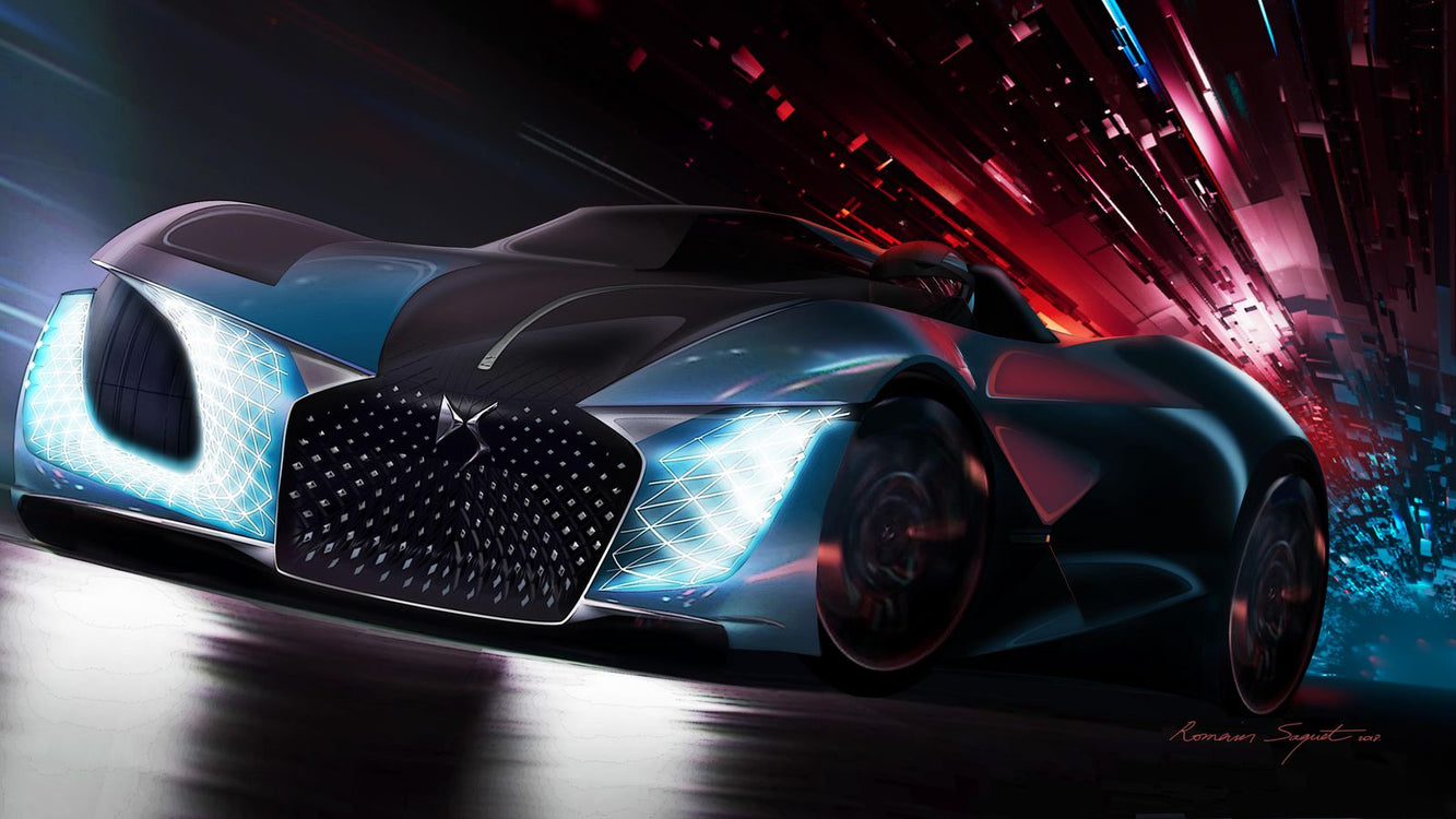 DS Hints an Electric Future with the X E-Tense EV Concept