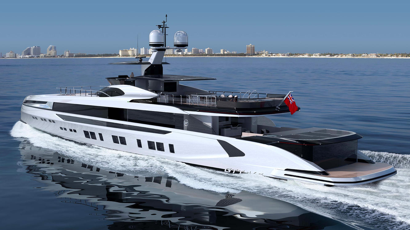 Dynamiq GTT 165 Superyacht - Underwater Foils for the Best Marine Experience